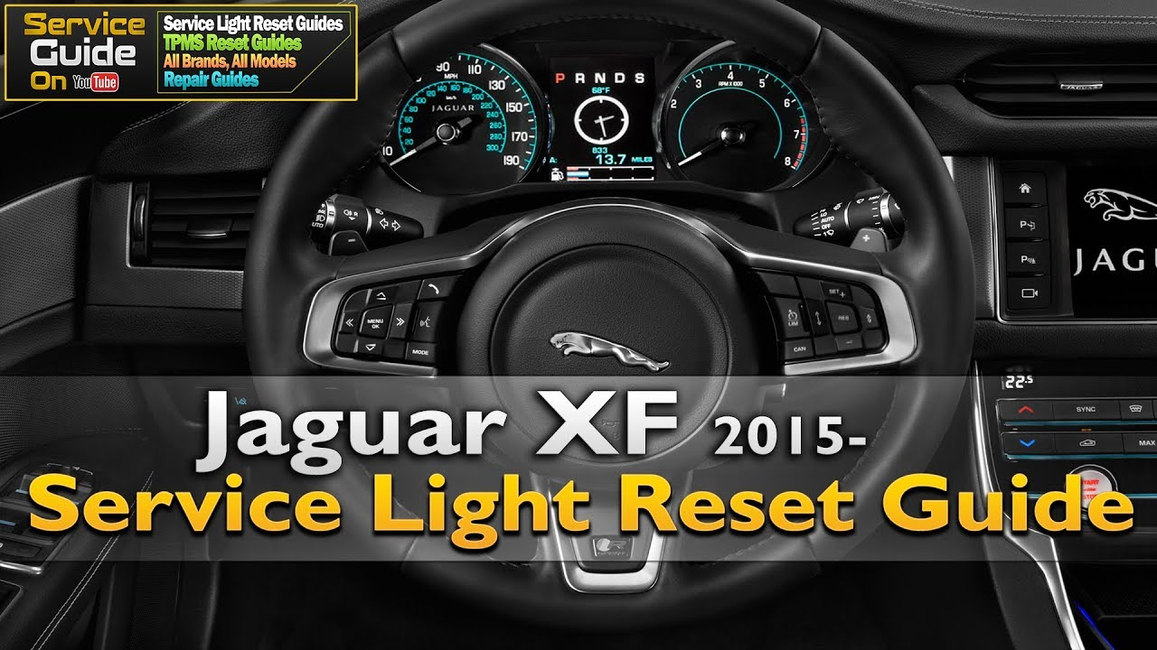jaguar xf 2015 service light reset guide youtube rh youtube com Diesel Transfer Pump Manual