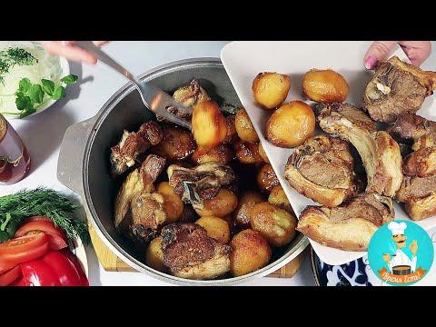 Казан кебаб из баранины с картошкой по узбекски: рецепт приготовления пошагово