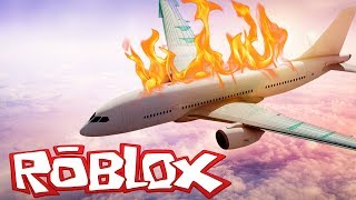 HOW TO SURVIVE A PLANE FALL! Roblox Obby