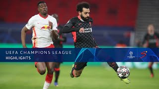 UEFA Champions League | Round of 16 | Red Bull Leipzig v Liverpool | Highlights