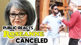 Public Reacts Roseanne Show Canceled | SLIGHTLY OFFENS*VE