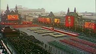 видео: URSS - Parata del 7.11.1976 (59° Anniversario della Rivoluzione)