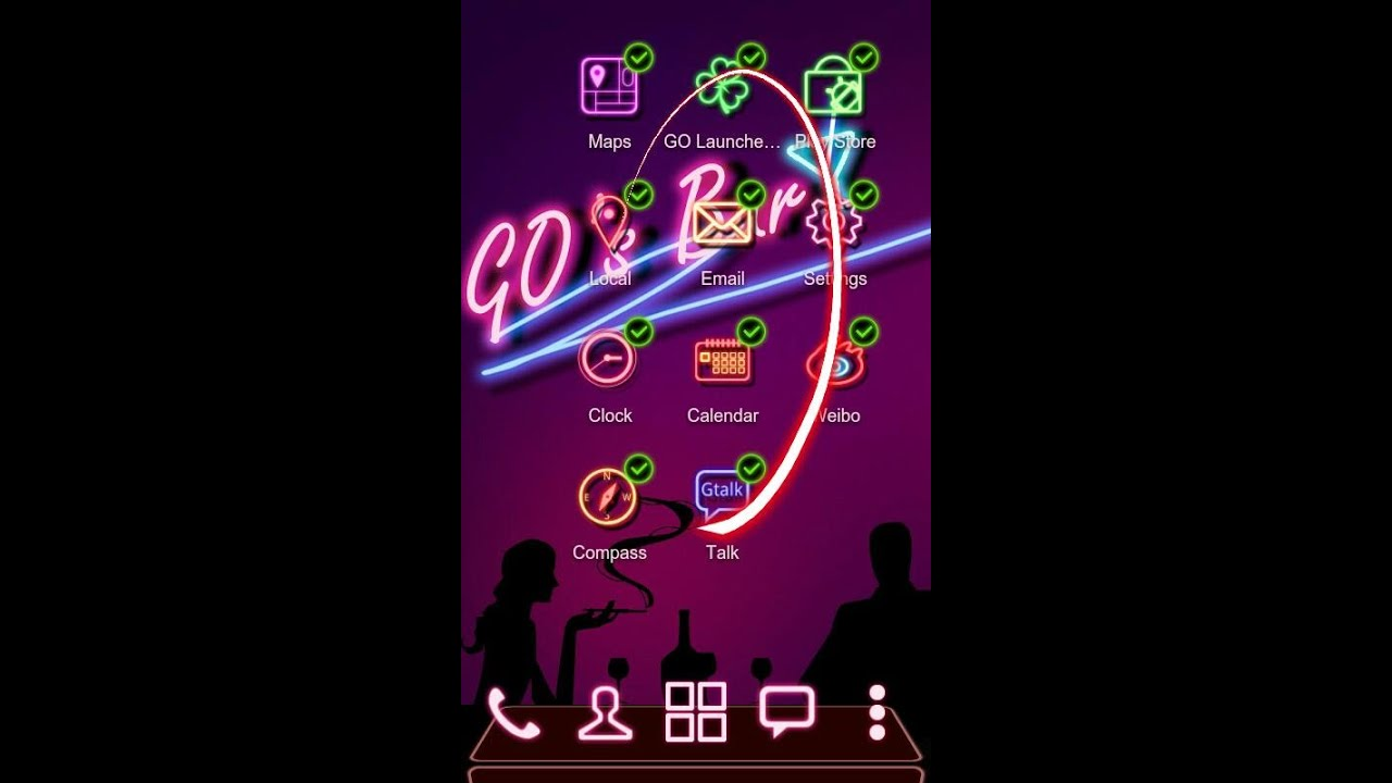 Club Next Launcher 3D Theme Full Free Android Apk DOWNLOAD