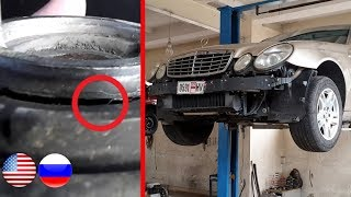 Problem solved. Replacing Engine Mounts on Mercedes W211 / Vibration when the engine is cold