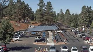 BriarPatch Food Co-op New Solar System and Parking Structure Timelapse