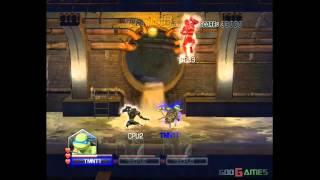 Teenage Mutant Ninja Turtles: Smash-Up - Gameplay Wii (Original Wii)