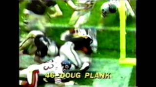 SAFETY -- Chicago Bear Doug Plank Makes the Big Stop