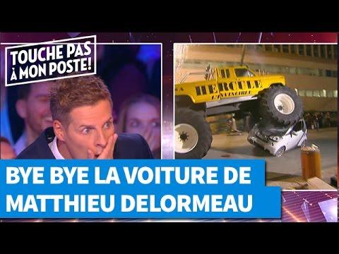Bye bye la voiture de Matthieu Delormeau !