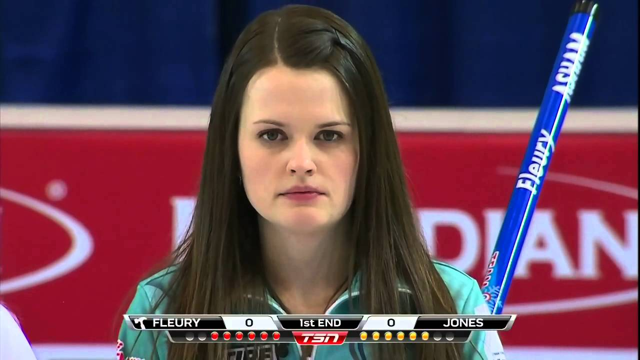 Jones vs Fleury - 2015 Home Hardware Canada Cup of Curling (Draw 4 ...