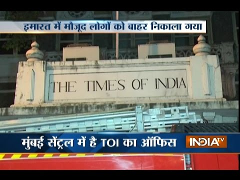 Fire breaks out at Times of India building in Mumbai