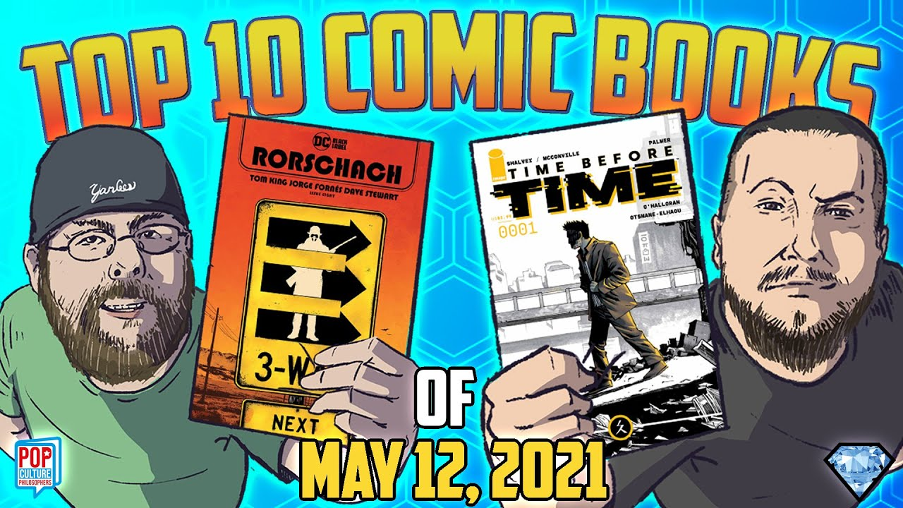 Download Top 10 COMIC BOOKS of 5/12/2021 with @Pop Culture Philosophers