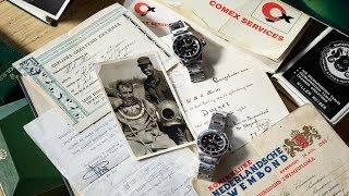 Mijn mooiste horloge verhaal: De twee Rolex Submariners van een COMEX-duiker
