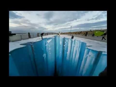 The Crevasse – Making Mind Blowing 3D Street Art by Edgar Mueller