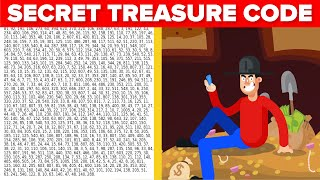 Secret Puzzle That Leads To $43 Million Dollar Treasure - Can You Solve It?