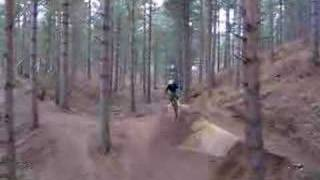 cal on the jump at chicksands