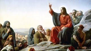 """""""Sermon on the Mount"""" Read by David Suchet with Bible text"""