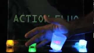 Verre shooter fluo lumineux ACTION FLUO