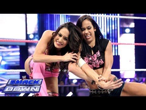 Brie Bella vs. AJ Lee: SmackDown, Oct. 18, 2013