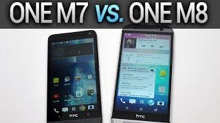 HTC One M7 vs. One M8, comparatif complet - par Test-Mobile.fr