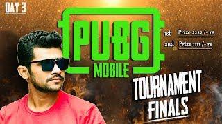 PUBG MOBILE TOURNAMENT DAY 3 ll FINAL ROUND ll ShreeMan LegenD
