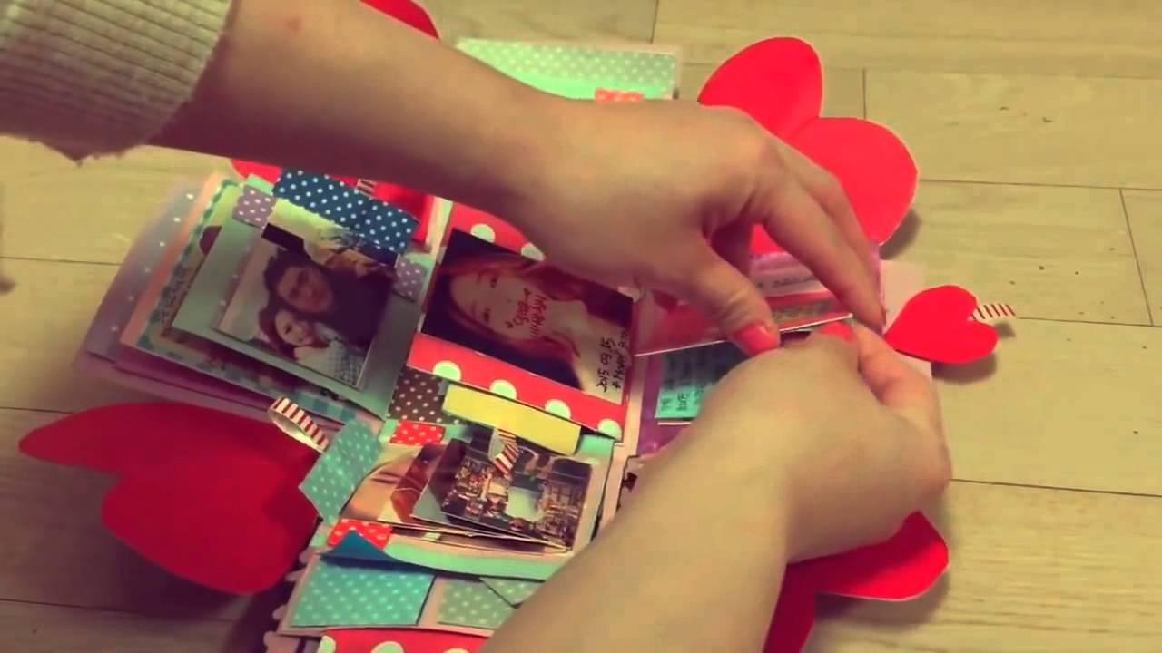 Handmade – quà valentine tặng bạn gái – valentine handmade