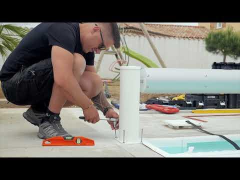 APF - Comment installer sur votre piscine une couverture automatique Hors Sol comme un pro ?