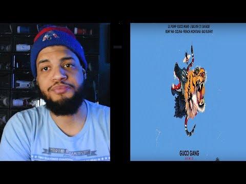 Lil Pump - Gucci Gang Remix Reaccion Bad Bunny, French Montana, J Balvin, 21, Gucci Mane, Ozuna Remy