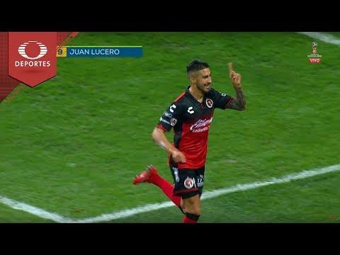 Gol de Lucero   Monterrey 0 - 2 Tijuana    Clausura 2018 - Cuartos (vuelta)   Televisa Deportes
