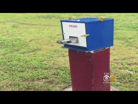Mystery Surrounds Vending Machines Selling Crack Pipes On Long Island
