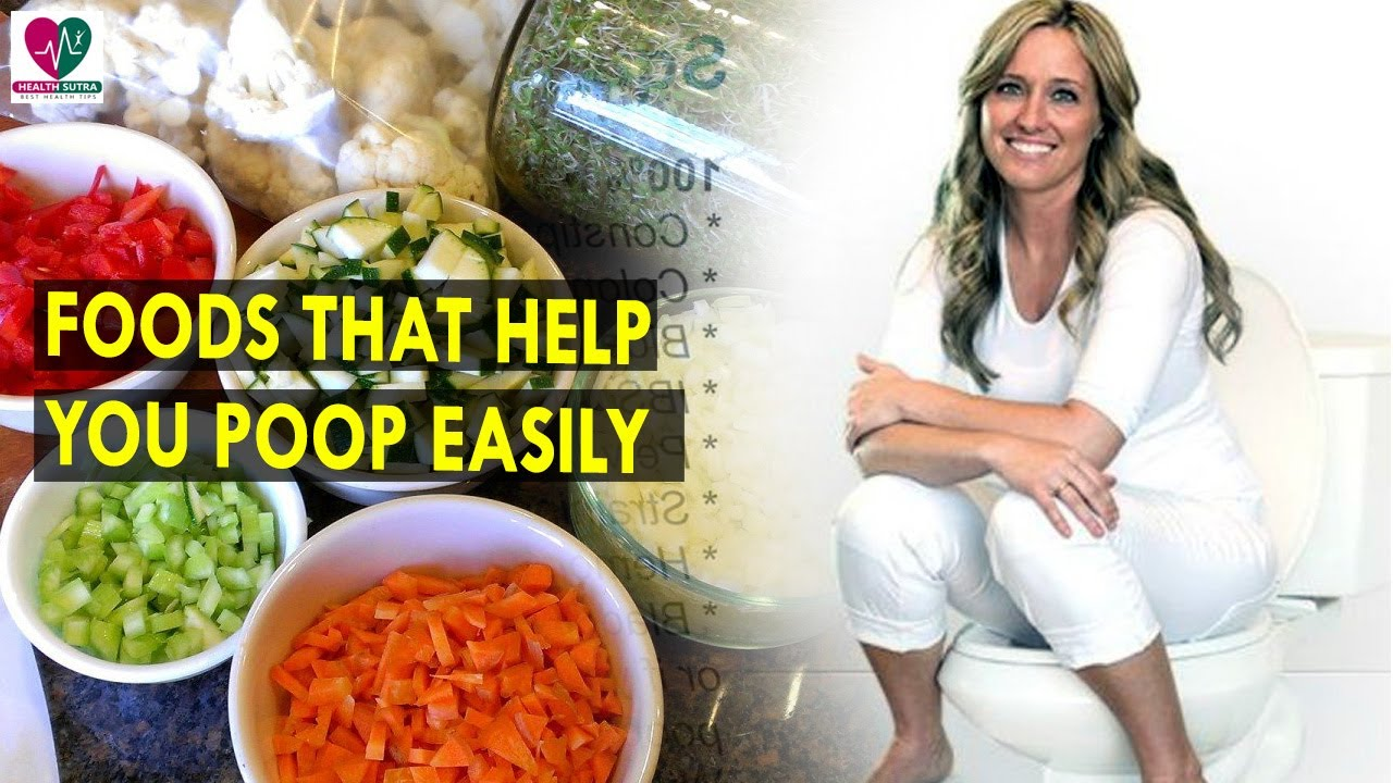 foods that help you poop easily || health sutra - best health tips