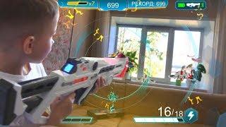 Nerf Laser Ops Pro Deltaburst/ we shoot at spaceships/ Лазерный бластер НЕРФ