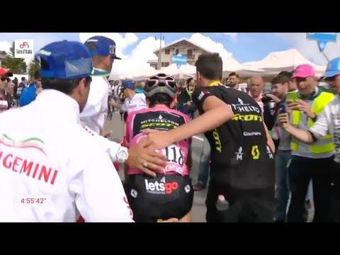 PQP News | Giro d'Itália 2018 - 18ª Et... Finalmente... Simon Yates bateu lata