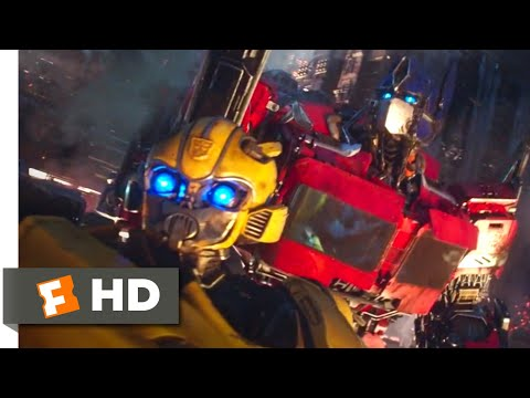 Bumblebee (2018) - The Cybertronian War Scene (1/10) | Movieclips