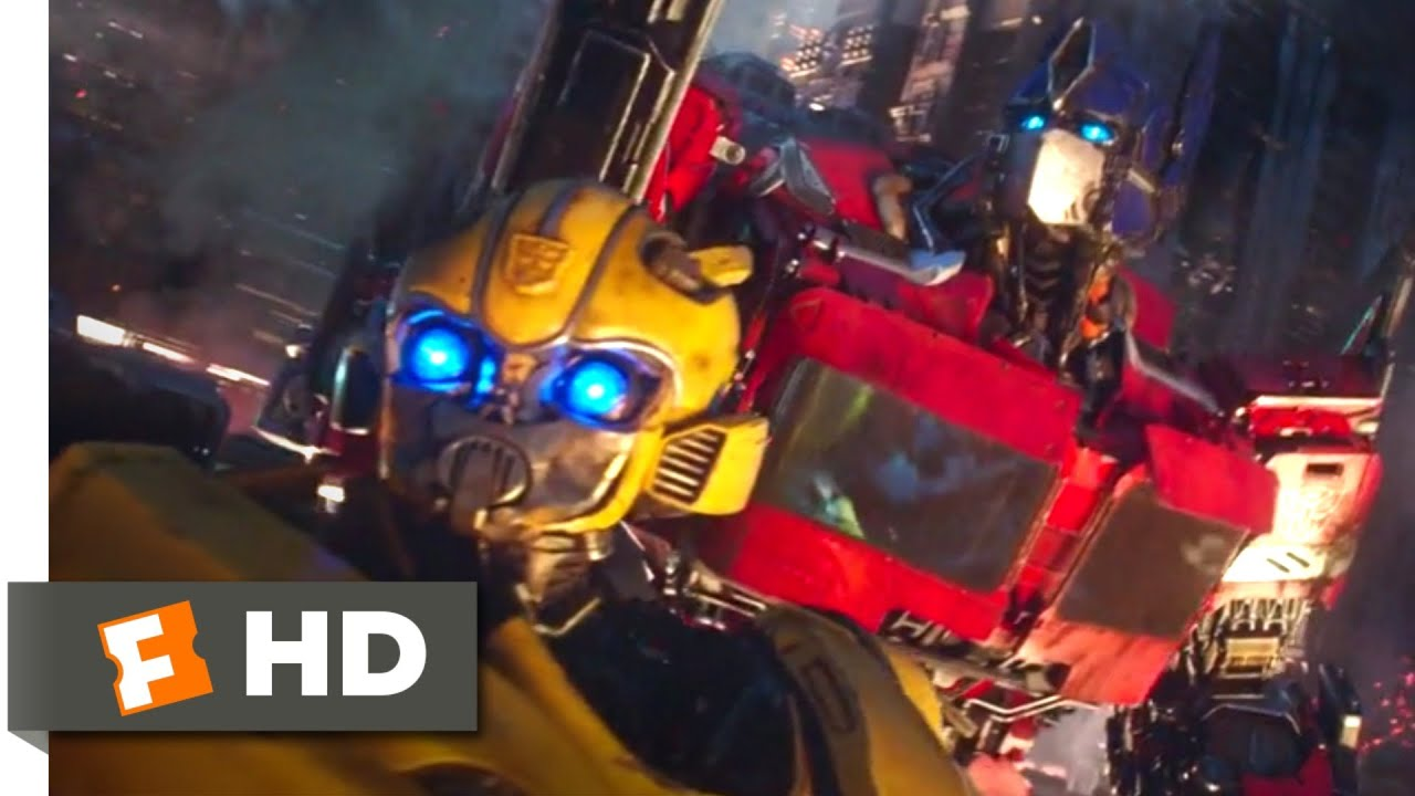 Download Bumblebee (2018) - The Cybertronian War Scene (1/10) | Movieclips