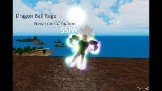 Roblox | Dragon Ball Rage | New Transformation SSJW