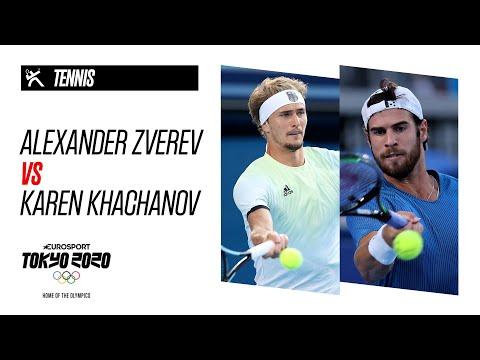 ALEXANDER ZVEREV vs KAREN KHACHANOV   Tennis   Day 9 - Highlights   Olympic Games - Tokyo 2020