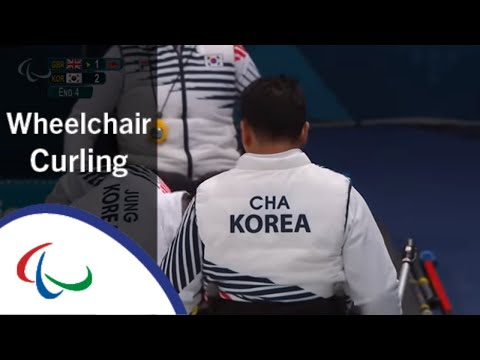 Wheelchair curling: Great Britain v Korea- Round Robin | PyeongChang2018 Paralympic Winter Games