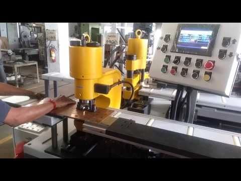 Arco Whitney Bus Bar Punching With Auto Stopper Cu