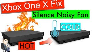 🔥 Stop your Xbox One X from Overheating - Full strip down and Thermal Paste Instructions