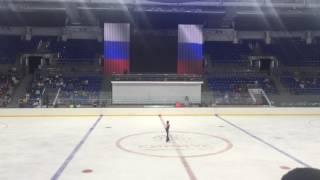 11 09 2016 контрольные прокаты сборной России по фигурному катанию 10