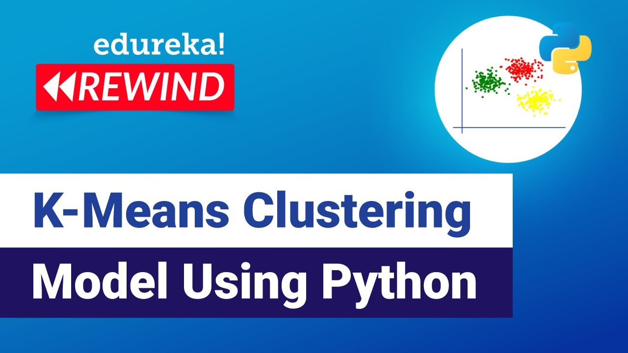 K-Means Clustering Model Using Python   Data Science Algorithms