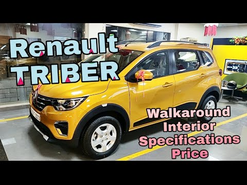 Renault TRIBER 2019 Complete Walkaround with Detailed Engine Specifications    Budget Cars Reviews