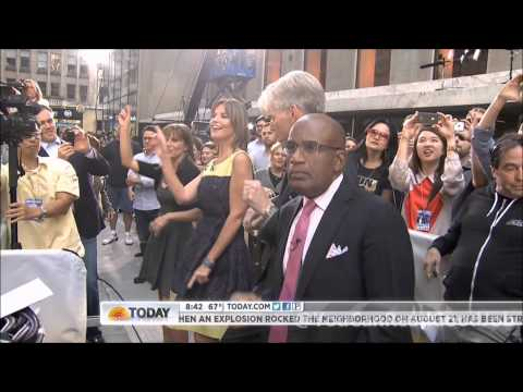 120914 - Psy (싸이) - Gangnam Style (강남스타일) [Both Performances] @ Today Show [HD 3D]