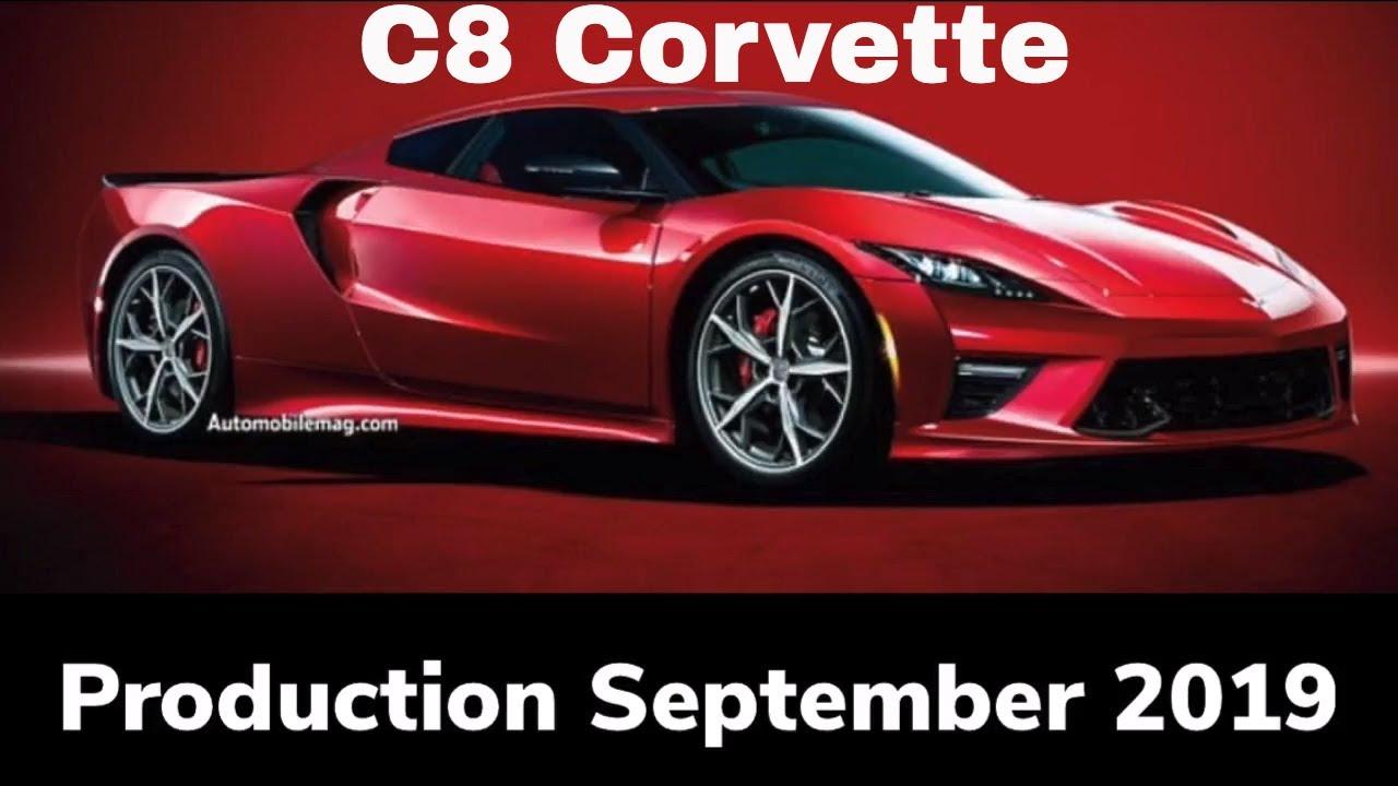 Mid Engine Chevy Corvette Production To Start September 2019