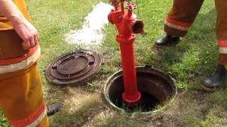 видео Применение клапана пожарного крана