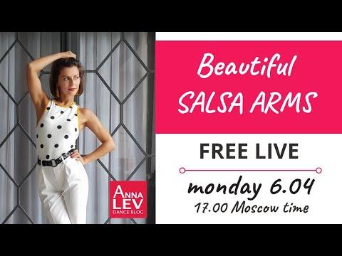 Beautiful Salsa Arms. FREE LIVE