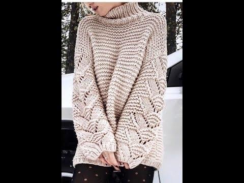 Связать пуловер спицами для женщины новые модели с описанием