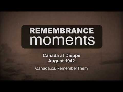 Remembrance Moments: Canada Remembers the Dieppe Raid (15 second ad)