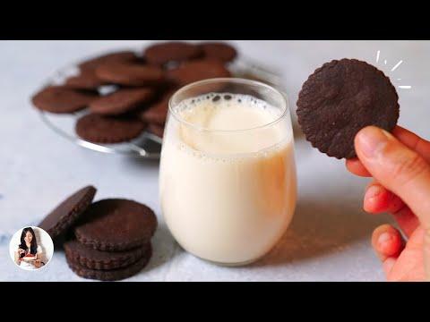 🍪Las mejores Galletas de chocolate en 2 min y SIN HORNO!!  Auxy