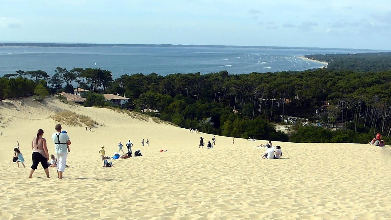 la grande dune du pyla the great dune of pyla pilat hd youtube. Black Bedroom Furniture Sets. Home Design Ideas